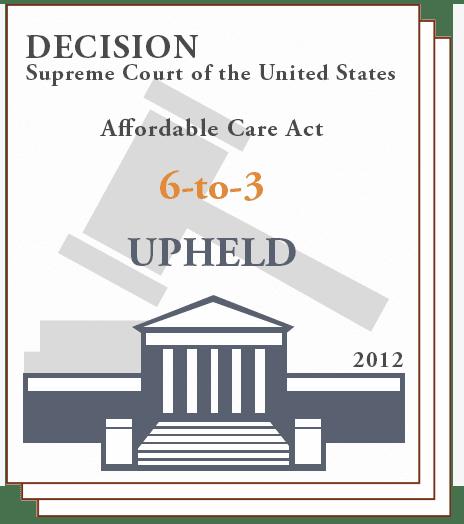SCOTUS Upholds ACA