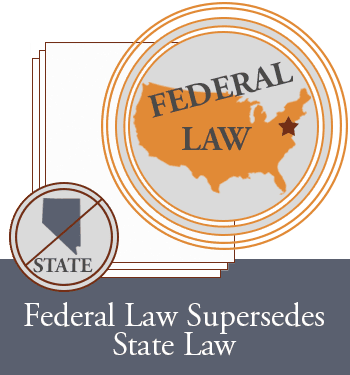 federal law trumps state