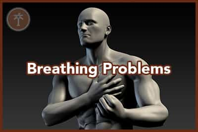 Shortness of Breath as a Warning Sign of Heart Problems 3d Illustration Render