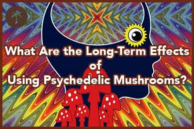 Woman with LSD Flashback. The long term effects after using psychedelic drugs like magic mushrooms