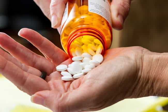 prescribed medications like OxyContin and Vicodin