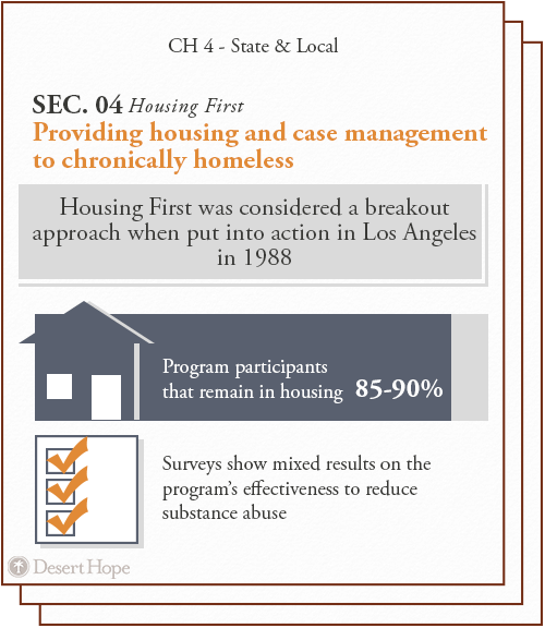 housing first was considered a breakout approach when put into action in los angeles in 1988