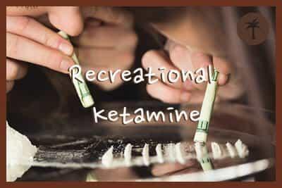 recreational ketamine use and addiction signs
