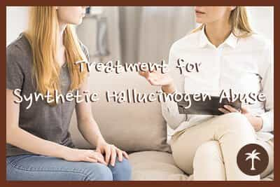 treatment for synthetic hallucinogen abuse