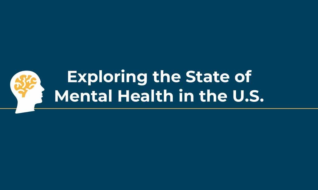 State of mental health in U.S